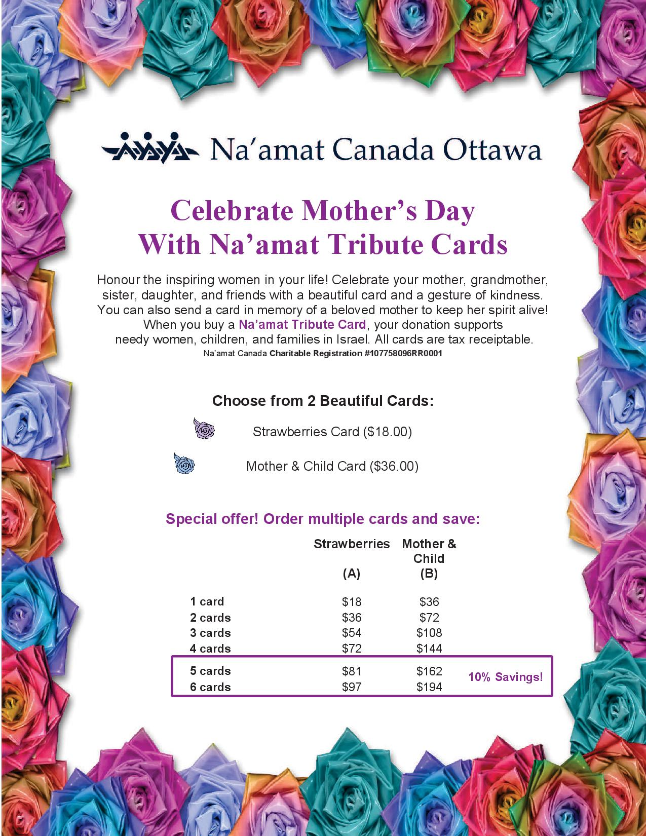 Ottawa Mother Card 2017